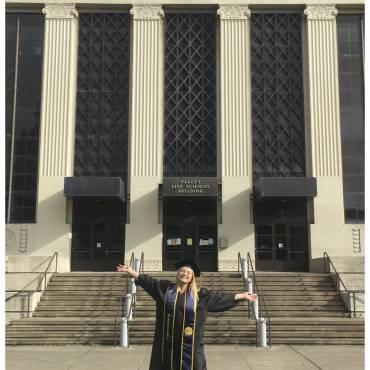 Natalie graduates!