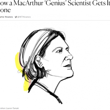"""How a MacArthur 'Genius' Scientist Gets it Done"""