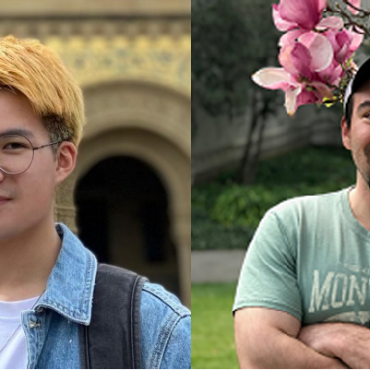 Chao and John have been accepted to graduate school!